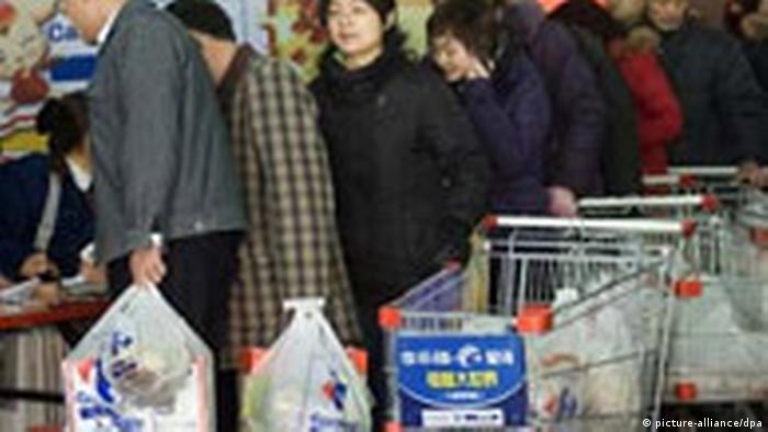 China schafft die Ausgabe von kostenlosen Plastiktüten ab