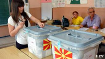 Mazedonien Wahlen 3