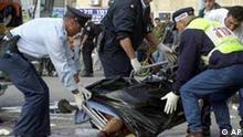 Anschlag bewaffneter Palästinenser in Nord-Israel