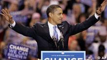 Barack Obama Siegesrede Vorwahlkampf