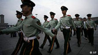 Tiananmen Square is heavily guarded on June 4 each year