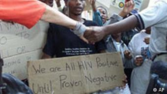 Aids-Proteste in Südafrika