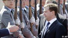 Deutschland Russland Dmitri Medwedew in Berlin
