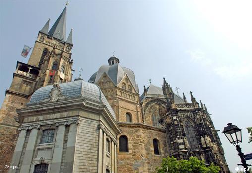 Ахенский собор, в котором погребён Карл Великий