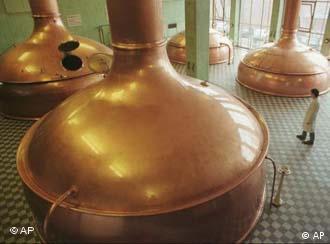 Beispiel für erfolgreiche Privatisierung: Brauerei in Peja