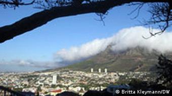 Blick auf Kapstadt (Foto: DW)