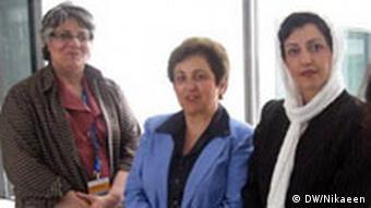 Sorayya Azizpanah, Shirin Ebadi, Narges Mohammadi, Maryam Ansari