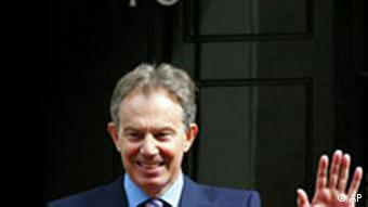 Großbritannien Machtwechsel Tony Blair Gordon Brown