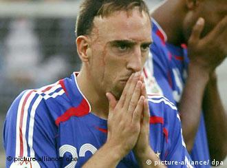 Ribéry u dresu francuske reprezentacije