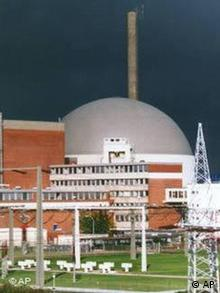 The nuclear power plant in Stade, Germany