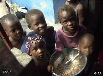 Найбільше від голоду потерпають в Африці.