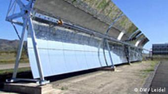 Solaranlage in Südspanien Andalusien