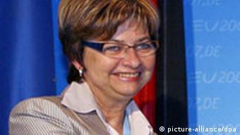 Die slowenische Familienministerin Marjeta Cotman