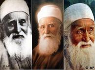 سه تصویر از پیشوای بهائیان میرزا حسینعلی نوری، مشهور به