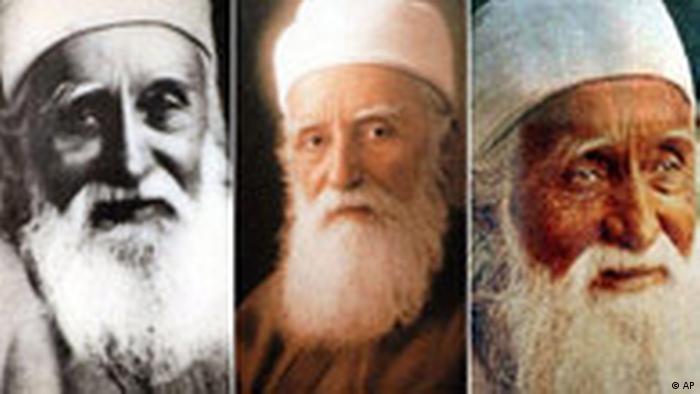Iran Bahai Gründer Abdul Baha (AP)
