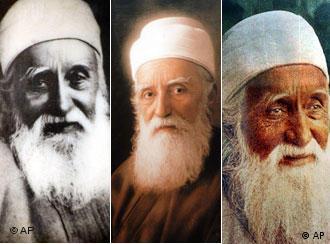 عبدالبهاء، فرزند بهاءالله، از پیشوایان دینی بهائیان