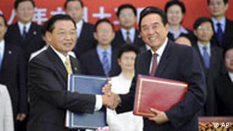 China-Taiwan-Gesprächen Vertragsunterzeichnung