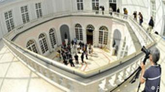 Deutschland Bayern Cuvillies Theater in München wiedereröffnet