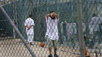 Detainees at Guantanamo Bay
