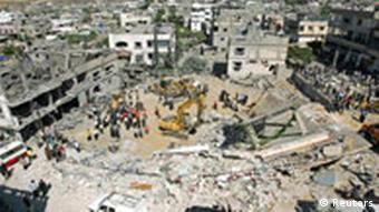 Tote bei Explosion im Haus von Hamas-Bombenbauer