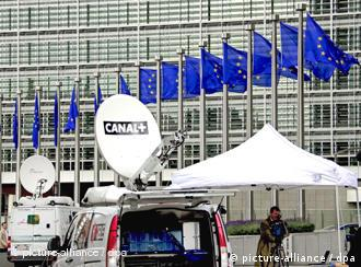 Здание Еврокомиссии в Брюсселе