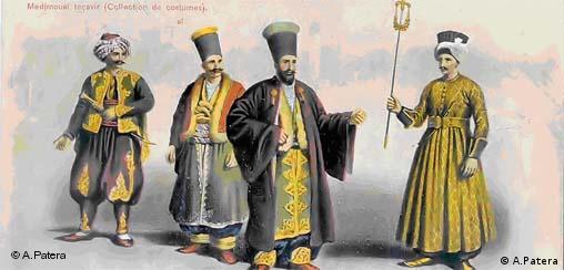 Posttartaren im Osmanischen Reich