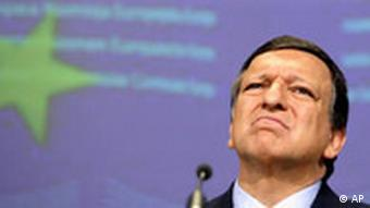 EU Commission President Jose Manuel Barroso