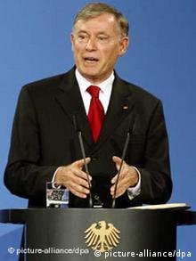 Horst Köhler hält dritte Berliner Rede ARCHIVBILD von 2007
