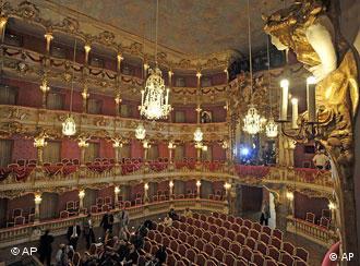 Salón principal del Cuvilliés, en Múnich.
