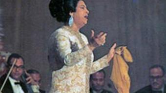 Umm Kulthum ägyptische Sängerin