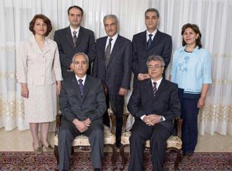 اعضای رهبران جامعه ملی بهائیان ایران که در مه ۲۰۰۸ توسط مقامهای امنیتی جمهوری اسلامی دستگیر شدند.