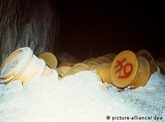 Хранилище атомных отходов в Ассе
