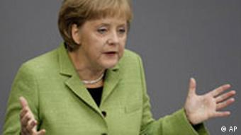 Angela Merkel, Quelle: AP