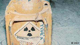 IAEA Radioaktives Material in Georgien