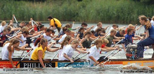 Drachenbootfest Schwerin