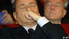 Italien Ministerpräsident Silvio Berlusconi in Rom