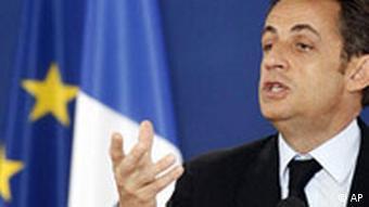 EU Belgien Krisengipfel Nicolas Sarkozy
