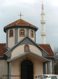 Црква и џамија