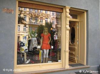 A fashion boutique in Prenzlauer Berg