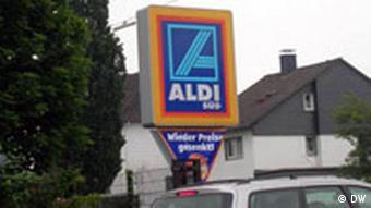Эмблема дискаунтера Aldi