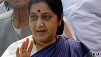 BJP leader Sushma Swaraj has accused the government of being insensitive to common man's woes