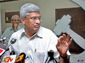Communist Party leader Prakash Karat