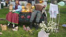 Foto Maryna Mazurkewitsch gemacht und der DW kostenfrei gegeben. Auf dem Bild ist eine der Aktionen für die Entwicklung des Tourismus auf dem Land in Belarus zu sehen. Stichwörter: Landtourismus, Belarus