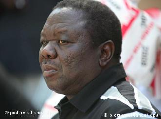 Movement for Democratic Change (MDC) leader Morgan Tsvangirai