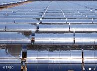 Central solar en California