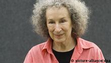 Kanada Kanadische Schriftstellerin Margaret Eleanor Atwood bei Buchmesse