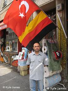 Kreuzberg shop-owner Erdogan Tunc