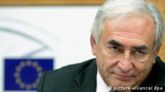 The Managing Director of the International Monetary Fund (IMF), French, Dominique Strauss-Kahn