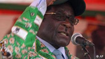 Simbabwe Wahlen Robert Mugabe in Mahuwe
