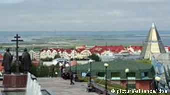 View of the West-Siberian city of Khanty-Mansiysk, host of the summit
